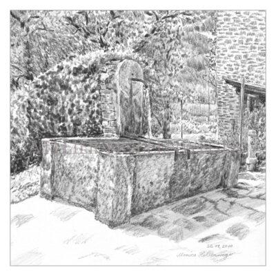 Brunnen in Scaiano