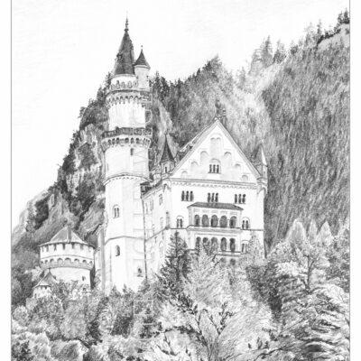 Schloss Neuschanstein Bayern