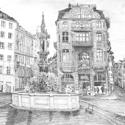 Basel Fisch-Markt-Platz