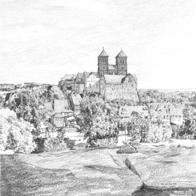 Schloss Quedlinburg Deutschland