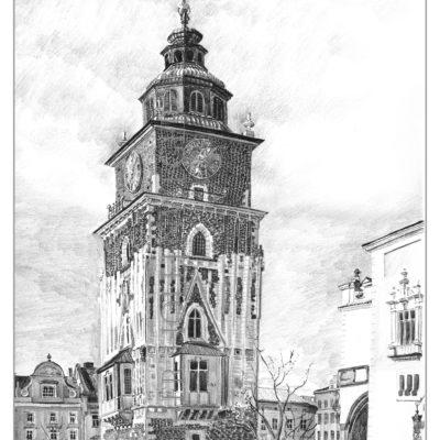 Rathausturm Krakau
