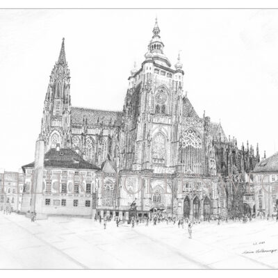 Veitsdom Prag (Katedrála)