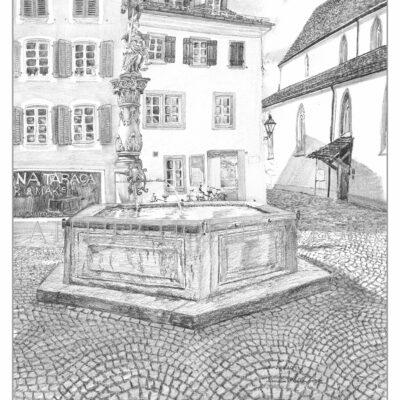 Aarau Gerechtigkeitsbrunnen