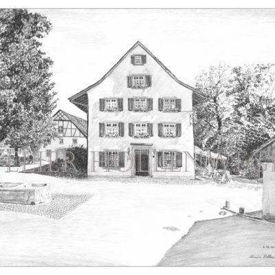 Kloster Fahr: Restaurant zu den zwei Raben